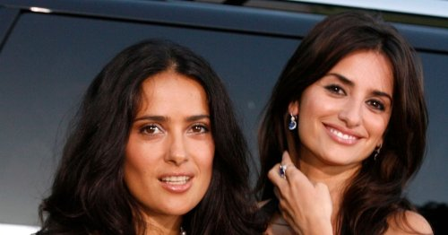 Salma Hayek mocked for posting her own bikini snap for Penelope Cruz's birthday