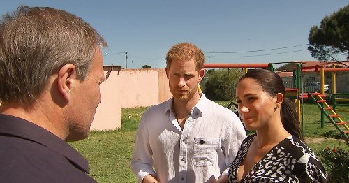 Meghan and Harry 'weren't in great shape' mentally during famous Africa tour