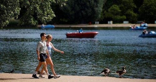 Washout weekend to lash Brits before scorching '30C heatwaves' next month