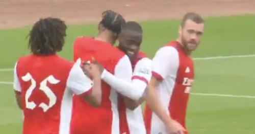 Nicolas Pepe and Alexandre Lacazette help Arsenal to pre-season friendly win