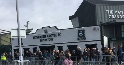 Confusion as people getting vaccine at football ground queue for season tickets