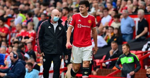 Man Utd rocked by injury crisis as two including Maguire limp off in Villa loss