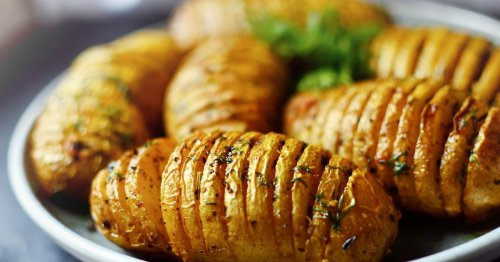 Hasselback roast potatoes to be a hit this Christmas – & they're so easy to make