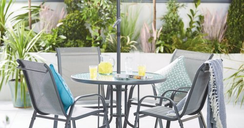 Aldi is selling a six-piece garden patio set and it's cheaper than rivals