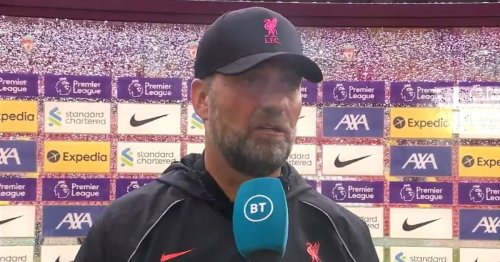 Jurgen Klopp takes another swipe at BT Sport with snappy response to Des Kelly