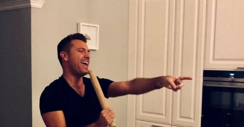 Inside Gino D'Acampo's Hertfordshire mansion – marble counters to cosy garden