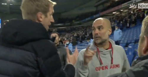Guardiola clears up Graham Potter relationship after Man City vs Brighton spat