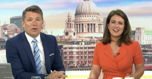 GMB descends into chaos as technical issue halts chat with Team GB olympian