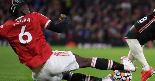 Gary Neville slams Pogba tackle as Liverpool star Naby Keita stretchered off