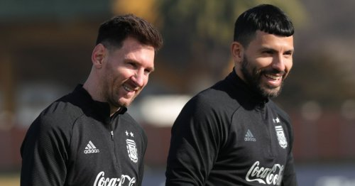 Sergio Aguero turned down Barcelona players' request out of respect to Messi