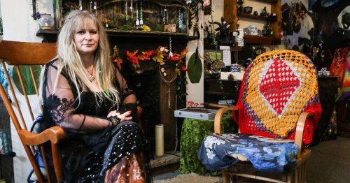 Self-proclaimed witch runs coven and has 'ghost pals' after meeting them aged 4