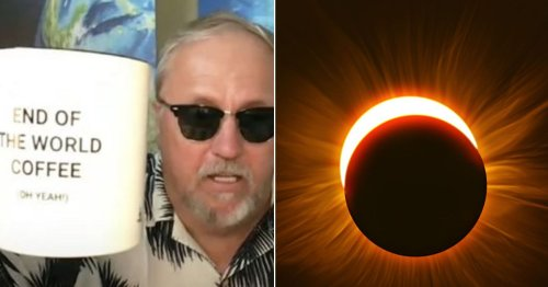 Preacher warns 'it's going to get ugly' as Ring of Fire eclipse signals doomsday