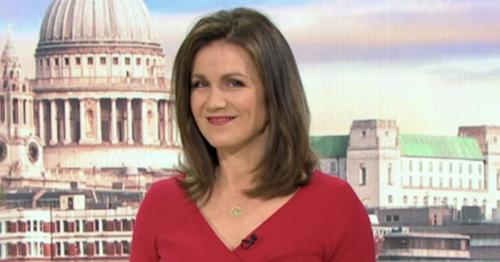 Susanna Reid says 'goodbye' to Good Morning Britain as she takes lengthy break