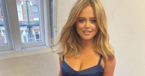 Emily Atack wows as she shows off killer curves in bikini for red-hot display