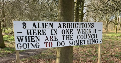 Three 'alien abductions' in a week - but local council 'aren't doing anything'