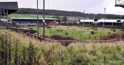 Abandoned football stadiums before and after nature reclaimed once-loved venues
