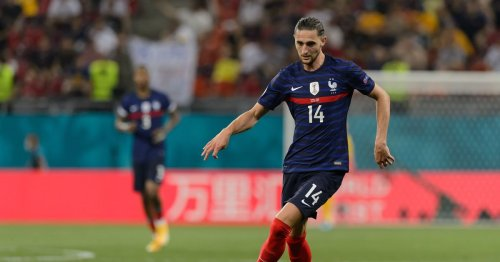 Man Utd scout watches Adrien Rabiot in France win over Switzerland at Euro 2020