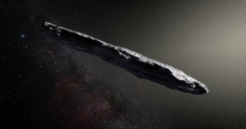Earth should steal alien tech from cigar-shaped UFO, expert claims