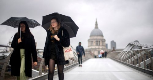 Brits warned over 24-hour washout with '5 inches of rainfall in one day'