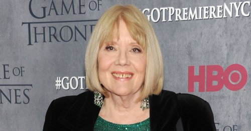 Game of Thrones' Diana Rigg's X-rated log-in uncovered brill Sainsbury's order
