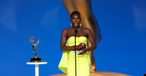 Michaela Coel's powerful speech as she wins Emmy Award for I May Destroy You