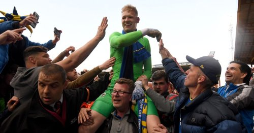 """Aaron Ramsdale at AFC Wimbledon, """"f*****g shut up"""" blast and fans taking his kit"""