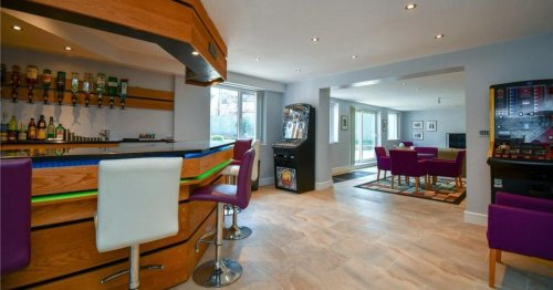 £1million party pad with bar and games room promises to end lockdown in style
