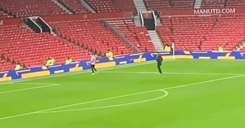 Donny van de Beek's full-time response to Man Utd loss captured on camera