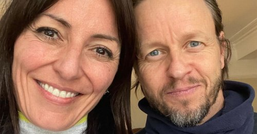 Davina McCall found love in a hairdressers after traumatic divorce