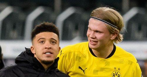 Haaland hints at Sancho reunion as Man Utd step up striker transfer pursuit