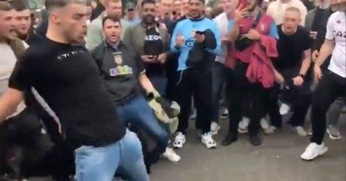 Aston Villa fans mock Cristiano Ronaldo's Siu celebration after Man Utd win
