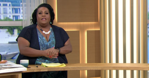 This Morning fans confused as Alison Hammond appears to 'break' Covid rules