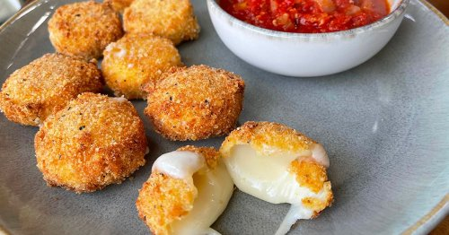 Foodie shares two minute recipe for £3 fried cheese bites using Babybels