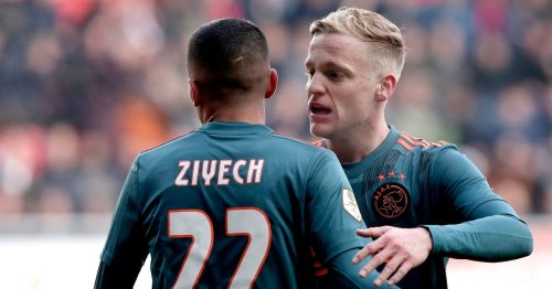 Chelsea and Man Utd receive same message over Hakim Ziyech & Donny van de Beek