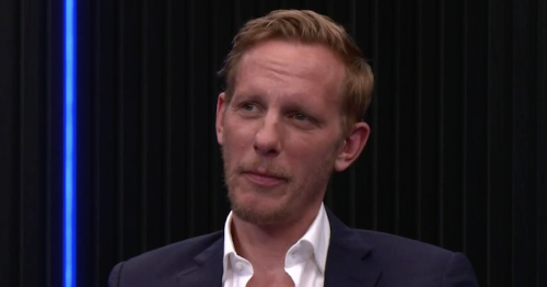 Laurence Fox swerves Billie Piper question on GB News as he talks regrets