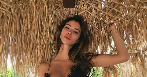 Ex-Spurs star Boateng's new girlfriend is model who invented upside down bikini