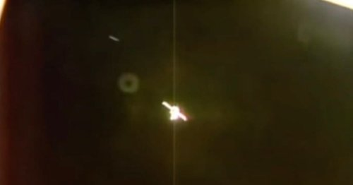 ISS cameras capture 'UFO hurtling past craft' – before 'returning' seconds later