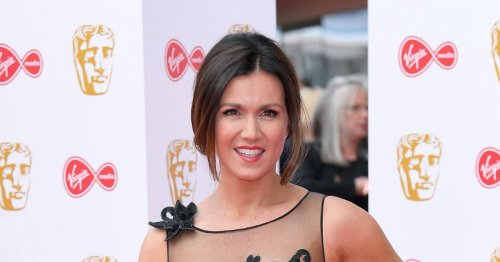 Sexiest TV BAFTA looks - Susanna Reid sheer gown to Holly Willoughby thigh-split