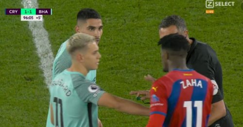Neal Maupay details Wilfried Zaha confrontation after late Brighton equaliser