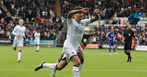 Swansea star could be in hot water after copying Shelvey celebration vs Cardiff