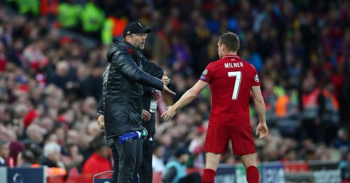 Klopp and Milner almost had 'dressing room fight' after 2-2 Liverpool draw