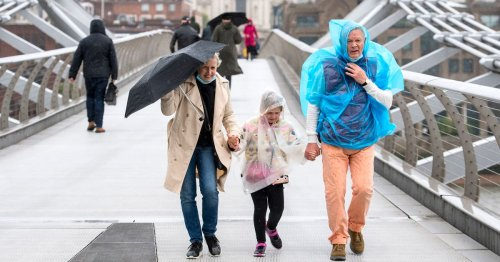 Met Office forecast shows exactly when torrential rain will hit your area today