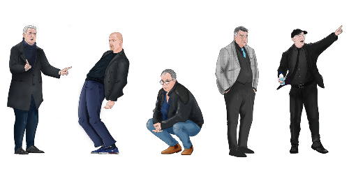 From trackies to trendy: football's tracksuit managers as best-dressed bosses