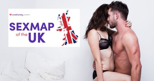 Sexiest regions in the UK pinpointed by interactive map – and Hampshire is top