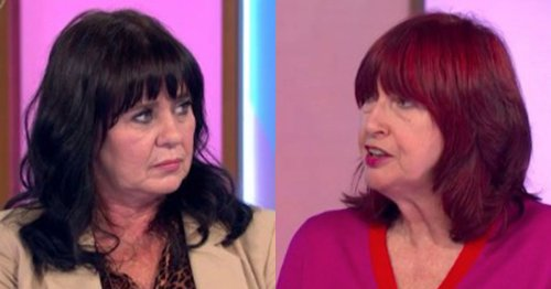 Loose Women's Coleen Nolan clashes with Janet Street-Porter during jab debate