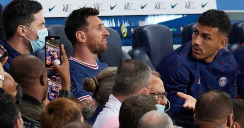 Lionel Messi ruled out of PSG action after suffering 'bone contusion' injury