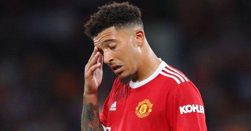 Jadon Sancho's Man Utd career causing Borussia Dortmund chief immense agony