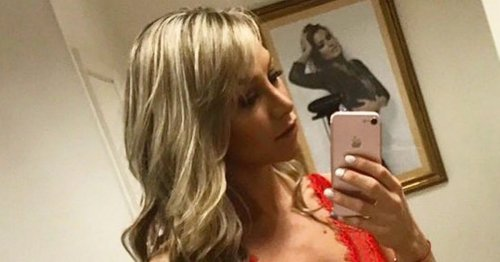 Chloe Madeley parades derriere in high-cut swimsuit for racy holiday throwback