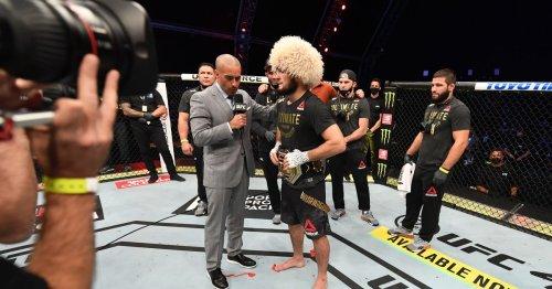 Khabib Nurmagomedov explains why he turned down $100m Floyd Mayweather fight