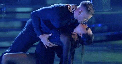 Strictly Adam Peaty's girlfriend issues stern warning to Katya after near kiss